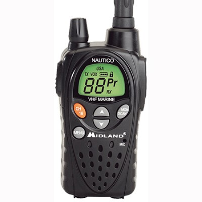 Nautico 3 Waterproof Marine Radio (Two-Way Radios/Scanners/Marine Radios (NT3VP)