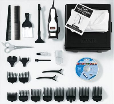 79524 - 26-Piece Deluxe Hair Clipper Kit - Chrome