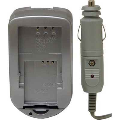 Digital Concepts AC/DC Battery Charger for Canon Lithium Batteries