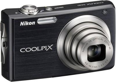 COOLPIX S630 Digital Camera (Jet Black)