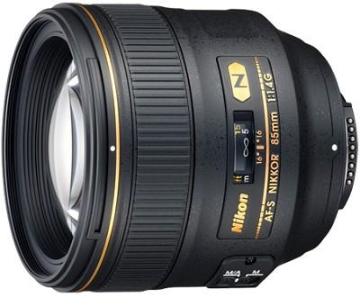 2195 - 85mm f/1.4G AF-S NIKKOR Lens for Nikon Digital SLR - REFURBISHED