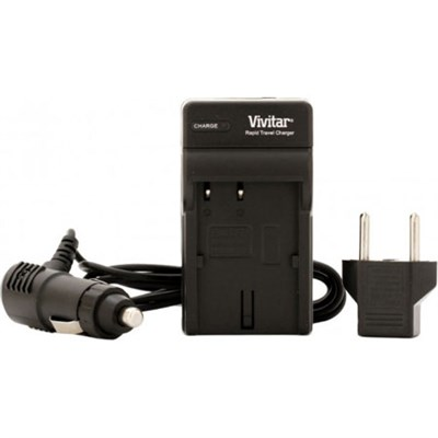 AC/DC Battery Charger for the Sony NP-FV50, FV70, and FV100 Batteries