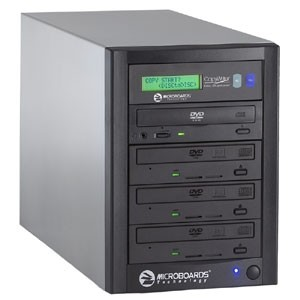 CopyWriter DVD-316 Premium PRO Tower Duplicator - 3(18X/48X) Recorders