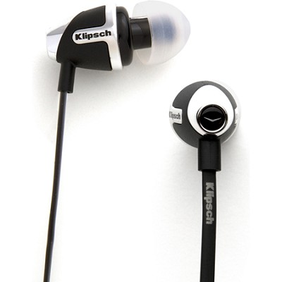 IMAGE S4 II In-Ear Enhanced Bass Noise-Isolating Headphone, Black
