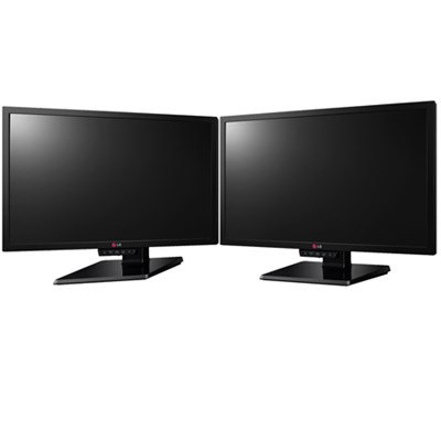 24-Inch Widescreen LED-Lit Gaming Dual Monitor Workspace Bundle