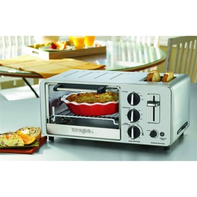 WTO150 Toaster Oven with Built-In 2-Slice Toaster - Factory Refurbished