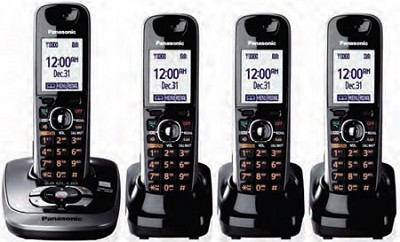 KX-TG7534B DECT 6.0 Plus Expandable Digital Cordless Answering System