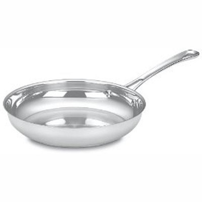 422-24 - Contour Stainless 10-Inch Open Skillet