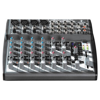 1202FX - Xenyx Premium 12-Input 2-Bus Mixer with Xenyx Mic Preamps- OPEN BOX