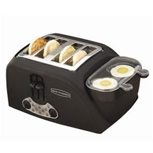 TEM4500 - 4-Slot Egg-and-Muffin Toaster - OPEN BOX