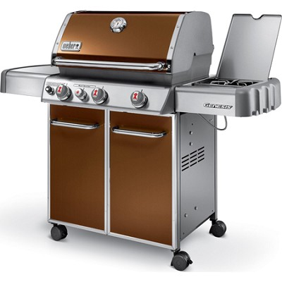 Genesis 6532001 E330 637-Square-Inch 38,000-BTU Liquid-Propane Gas Grill, Copper