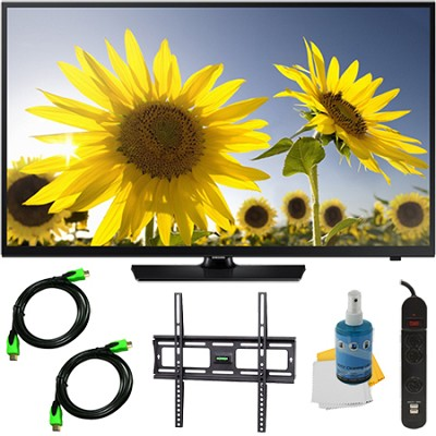 UN40H4005 - 40-Inch HD 720p Slim LED TV CMR 60 Plus Mount & Hook-Up Bundle