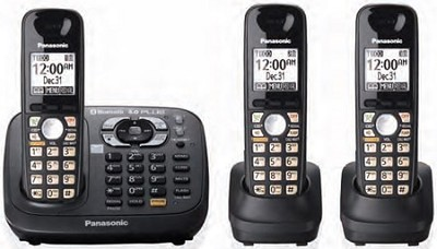 KX-TG6583T DECT 6.0 Plus Link-to-Cell Bluetooth Convergence Solution