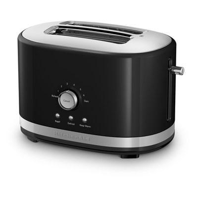 2-Slice Toaster with High Lift Lever in Onyx Black - KMT2116OB