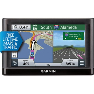 nuvi 56LMT GPS (US and Canada) w Lifetime Maps & Traffic Refurb 1 Year Warranty
