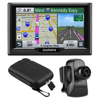 Drive 50LMT GPS Navigator (US and Canada) Charger Bundle