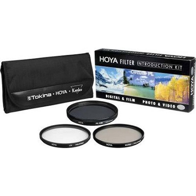 30mm Introductory Filter Kit (UV, Circ. Polar., Warming Filter & Wallet)