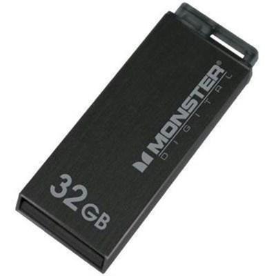 32GB USB 2.0 High Speed Colors Drive (Metallic Black)