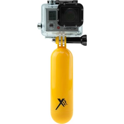 Yellow Floating Bobber Handle For GoPro Action Camera