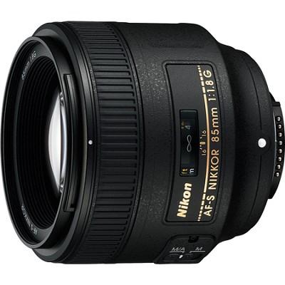 85mm f/1.8G AF-S NIKKOR Lens for Nikon Digital SLR Cameras - FACTORY REFURBISHED
