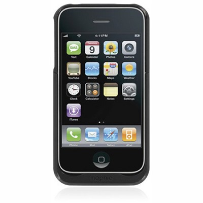 Juice Pack | iPhone 3G | Black REFURBISHED - OPEN BOX