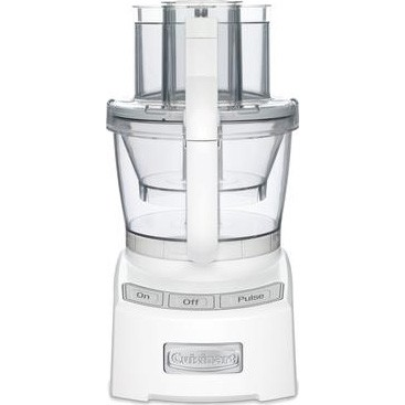 Elite Collection 12 Cup Food Processor (White)