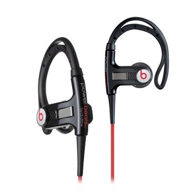 PowerBeats Sport Headphones with in Ear sport Hook in (Black) 129662