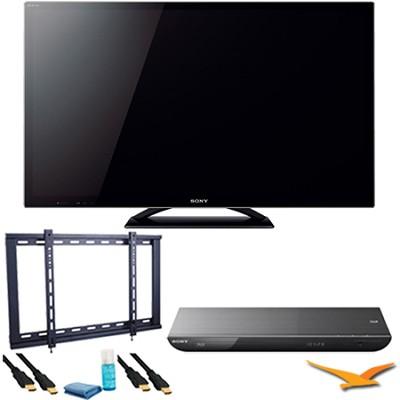 KDL55HX850 - 55` LED HX850 Internet TV Plus BDPS590 Blu Ray Bundle