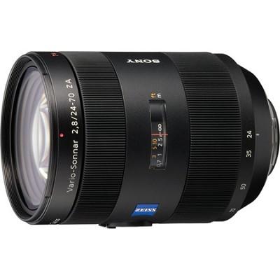 SAL2470Z - Carl Zeiss - 24-70mm f2.8 Zoom Lens for Alpha DSLR's - OPEN BOX