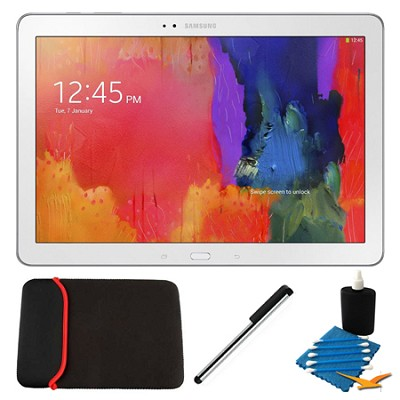 Galaxy Note Pro 12.2` White 32GB Tablet and Case Bundle
