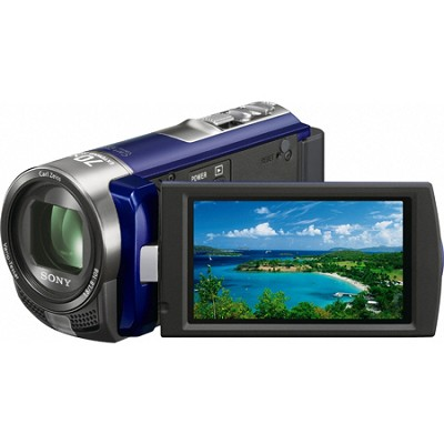 Handycam DCR-SX45 Palm-sized Blue Camcorder - OPEN BOX