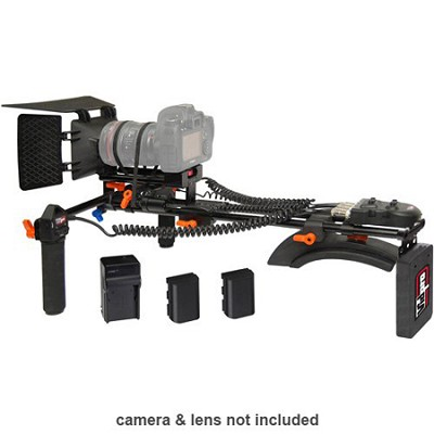 Motorized Focus & Zoom Shoulder Rig for Digital SLR Cameras