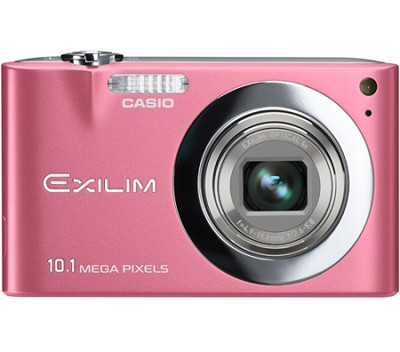 Exilim EX-Z100 10.1MP Digital Camera with 2.7` LCD (Pink) - OPEN BOX