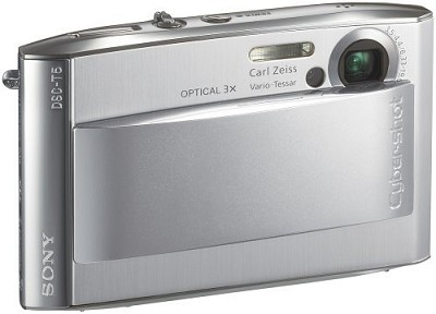 Cyber-shot DSC-T5 Digital Camera - Silver (after holiday sale)