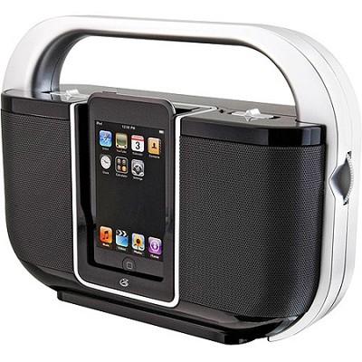 iLive Portable Boombox with iPod Dock (Black)