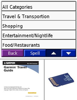 Travel Guide (Fodor's) for United States, Canada, and Mexico -  GPS Software