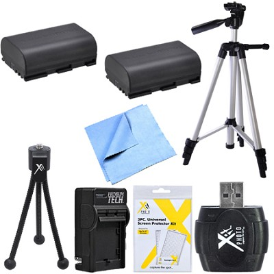 Advanced LP-E6 Battery Bundle for Canon EOS 5D Mark III, 6D, 60D, 7D, 70D