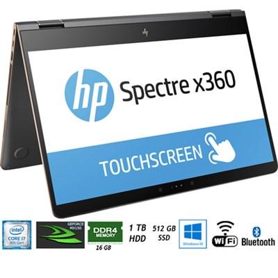 Spectre x360 - 15-bl112dx 15.6` Intel i7-8550U Laptop - (Certified Refurbished)