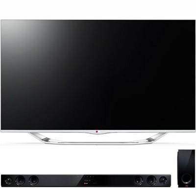 55` Class 1080p 240Hz Cinema 3D Smart TV (55LA7400) with NB3530A Sound Bar