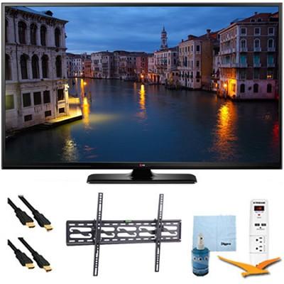 50PB6650 - 50` HD 1080p 600Hz Smart Plasma TV Plus Tilt Mount & Hook-Up Bundle