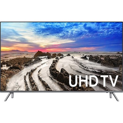 UN75MU8000FXZA 74.5` 4K Ultra HD Smart LED TV (2017 Model) - Refurbished