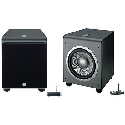 ES250PWBK Wireless 400-Watt Powered 12-inch Subwoofer (Black)