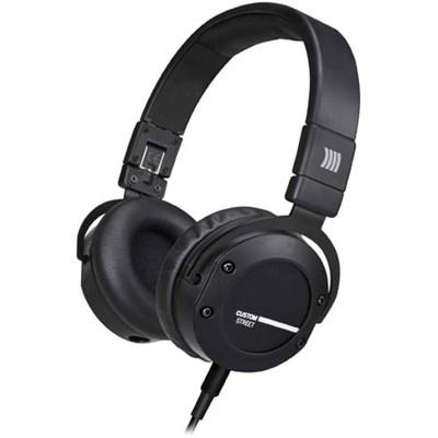 Custom Street Premium Studio Headphones (Black)
