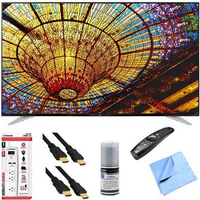 79UF7700 - 79-Inch 240Hz 2160p 4K Smart LED UHD TV Plus Hook-Up Bundle