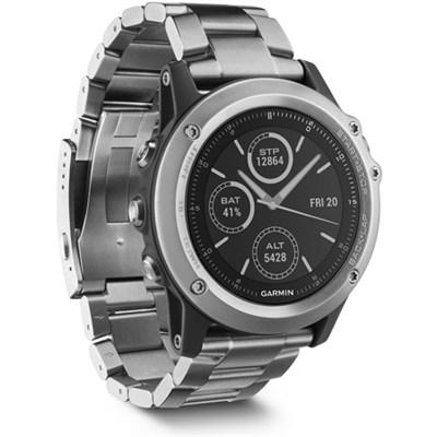 Fenix 3 Sapphire GPS Watch w/ Heart Rate Monitor - Titanium (010-01338-40)