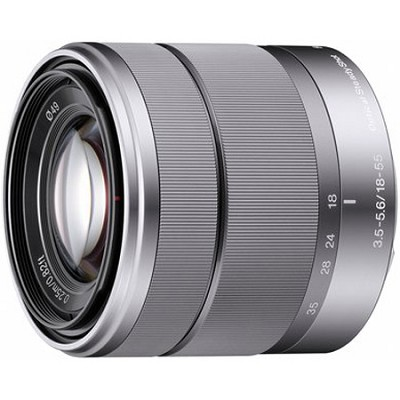 SEL1855 - 18-55mm f/3.5-5.6 Zoom E-mount Lens