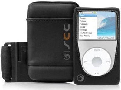 Sportsuit Convertible Case for 80/120/160 GB iPod classic 6G (Black) - 8201-CCBK