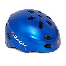 V17 Childrens Ages 5 - 8 Helmet - Satin Blue