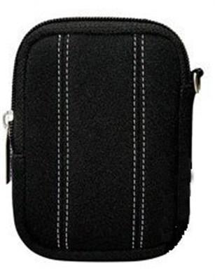 Finepix Neoprene Cushioned Compact Camera Case (Black)