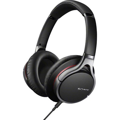 MDR-10R Premium Stereo Headphones - Black